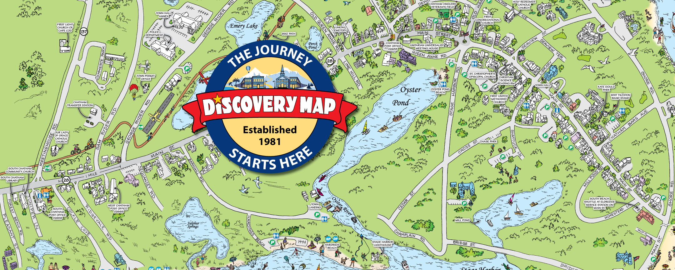 Travel Guides and Local Maps Discovery Map