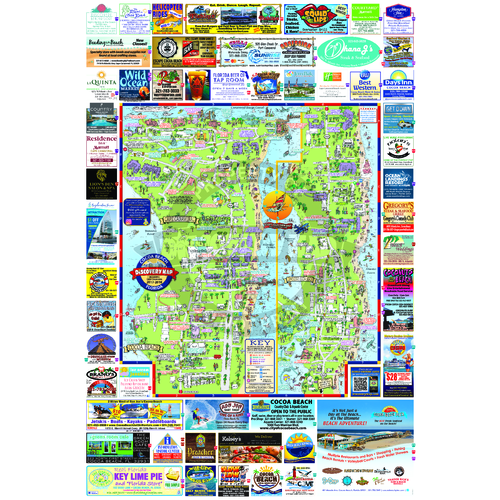 Cocoa Beach, FL on map showing port canaveral florida, map showing cape canaveral, hotel cape canaveral fl, map florida fl, map sarasota fl, weather cape canaveral fl, map of cape canaveral area,