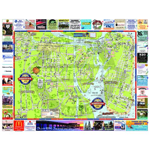 Show Me A Map Of Savannah Georgia.Savannah Ga