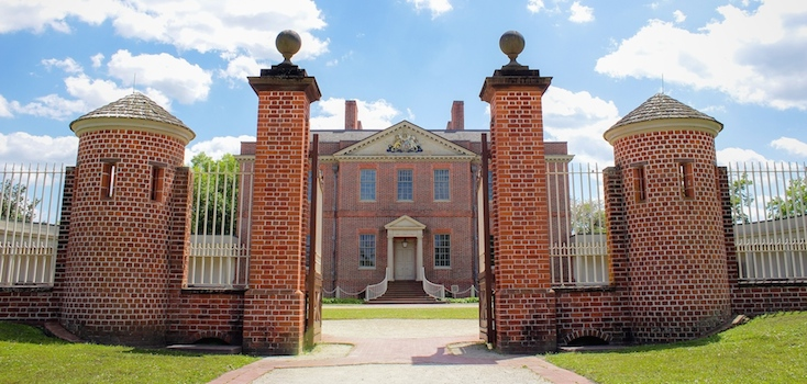 History awaits at the Governor's Palace in New Bern, North Carolina.